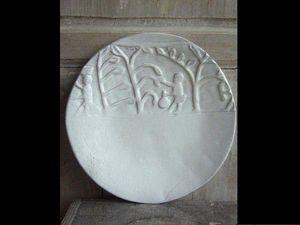 CARRON - africa - Assiette Plate