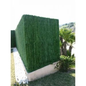 JET 7 GARDEN - haie artificielle vert pin 110 brins jet7garden - Haie Artificielle