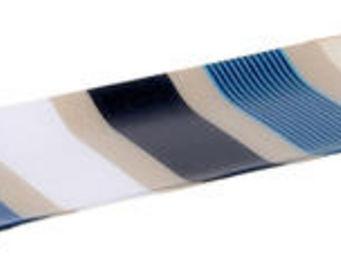 Artiga - plat à cake garlin en coton et acrylique 39x15.5x2 - Plateau