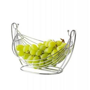 Delta - corbeille à fruits hamac en métal - Corbeille À Fruits
