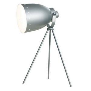 Delta - lampe de table métal - couleur - gris - Lampe À Poser