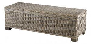 INWOOD - bout de lit coffre kubu - Coffre De Jardin