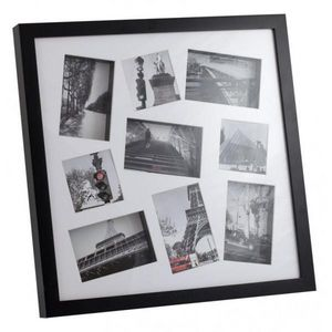 INVOTIS - cadre photos 3d noir - Cadre Photo