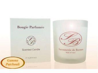 Savonnerie De Bormes - bougie parfumée - patchouli - 165 g - savonnerie d - Bougie Parfumée