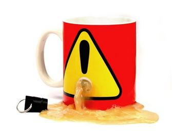 SPINNING HAT - mug à bouchon - Mug