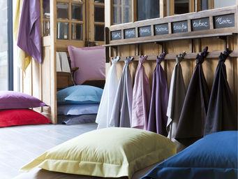 Essix home collection - drap plat percale 80fils - Drap De Lit