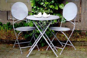 DECOSTARS -  - Table De Jardin Ronde