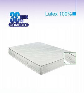 ECO CONFORT - matelas eco-confort 100% latex 7 zones 120 * 200 - Matelas En Latex