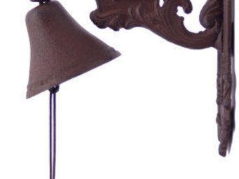 Antic Line Creations - cloche ange en fonte - Cloche D'ext�rieur