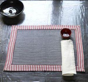A CASA BIANCA - arezzo grey placemat - Set De Table