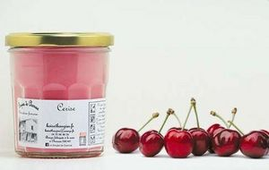 LES BOUGIES DE CHARROUX - cerise - Bougie Parfumée