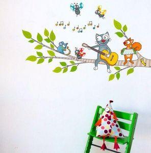 Acte Deco -  - Sticker D�cor Adh�sif Enfant