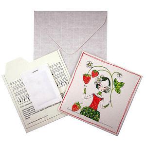 ROSSO CUORE - seeds cards piccoli frutti - Carte De Voeux