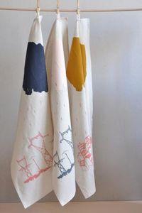 ANNE FONTAIMPE -  - Torchon