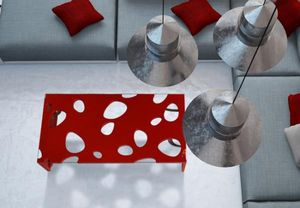 BOIS-MEUBLE-CREATION -  - Table Basse Rectangulaire