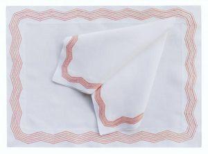 Eri Textiles Riesle -  - Nappe Et Serviettes Assorties