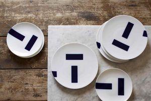TH MANUFACTURE -  - Assiette Plate