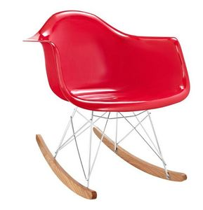 VOGA - eames rar rocker-gloss red - Rocking Chair
