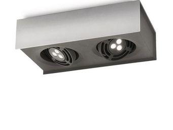 Philips - plafonnier led radar bar - Spot Encastré Orientable