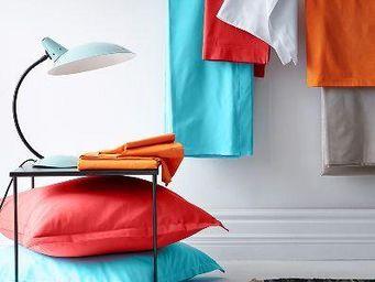 Essix home collection - satin de coton 80 fils - Housse De Couette