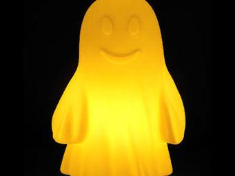 Slide - rudy - lampe fantôme jaune h42cm | lampe à poser s - Lampe À Poser