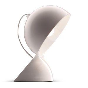 ARTEMIDE - dalu - lampe à poser blanc h26cm | lampe à poser a - Lampe À Poser