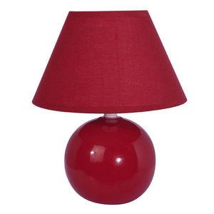 Corep - lou - lampe à poser cerise h28cm | lampe à poser c - Lampe À Poser