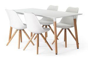 Pilma - chaise design - Table De Repas Rectangulaire