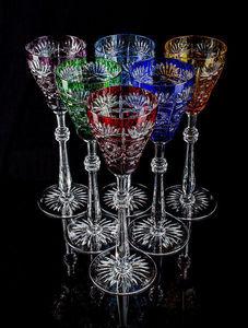 TSAR IMPERIAL - tsarina goblet set of 6 - Verre � Pied