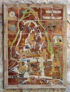 POTERIE TOURNESOL -  - Plan De Village