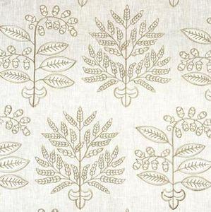 Vaughan - tinos embroidered - Tissu D'ameublement