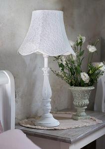 BLANC MARICLO -  - Lampe À Poser