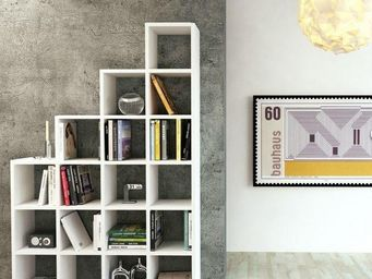 TemaHome - temahome bookcases design pombal blanc 18 cases - Biblioth�que
