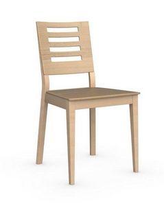 Calligaris - chaise italienne style de calligaris chêne - Chaise