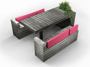 HURBZ -  - Table De Jardin