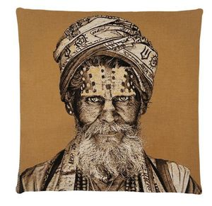 FS HOME COLLECTIONS - 'bandu baba - Coussin Carré