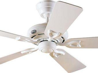 Hunter - ventilateur de plafond classique blanc et pales bl - Ventilateur De Plafond