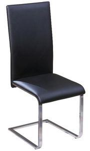 COMFORIUM - chaises de salle à manger design coloris noir et m - Chaise