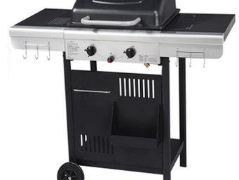 WILSA GARDEN - barbecue grill et plancha 2 feux 112x53x94cm - Barbecue Au Gaz