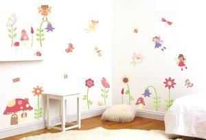 Funtosee - kit de stickers le jardin enchanté - Sticker Décor Adhésif Enfant