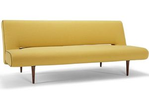 INNOVATION - canape design unfurl jaune convertible lit par inn - Banquette Clic Clac