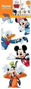 Nouvelles Images - sticker fenêtre mickey et ses amis - Sticker Décor Adhésif Enfant