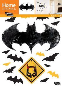 Nouvelles Images - sticker mural batman logo chauve souris - Sticker Décor Adhésif Enfant