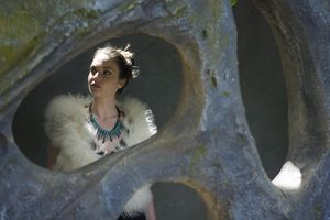 SANDRINE CHARLES - MESSANCE - urubu vert - Collier