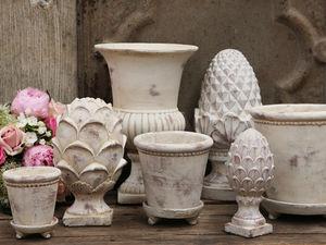 CHIC ANTIQUE - flower pots - Divers Objets Décoratifs