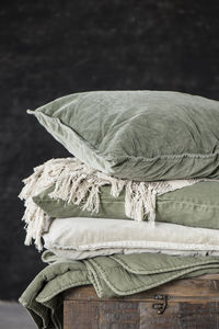 IB Laursen - olive - Coussin Rectangulaire