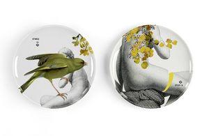 Ibride - parnasse - Assiette Plate