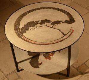 MARCHAND DE SABLES -  - Table Basse Ronde
