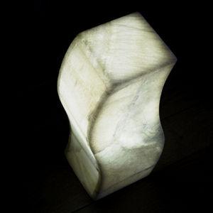 Lune d'Onyx - lampe cihuacoatl - Lampe À Poser