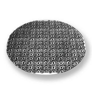 la Magie dans l'Image - assiette anis blanc noir 1 - Assiette De Présentation